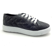 Wholesale Product Male/Female PU Upper Stock Lot Shoes Italian Casual Shoes