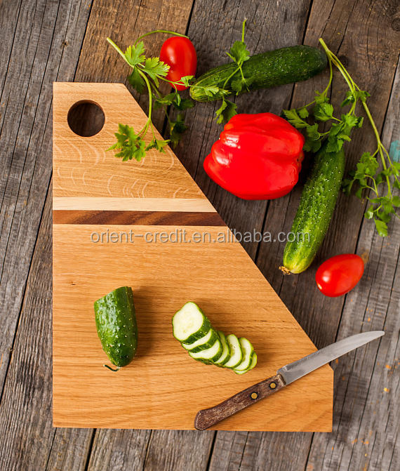 High quality wood Cutting Board,woden food serving tray