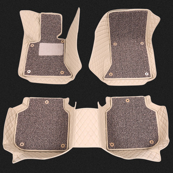 China Factory Automobile Accessory Leather Car Floor Mats
