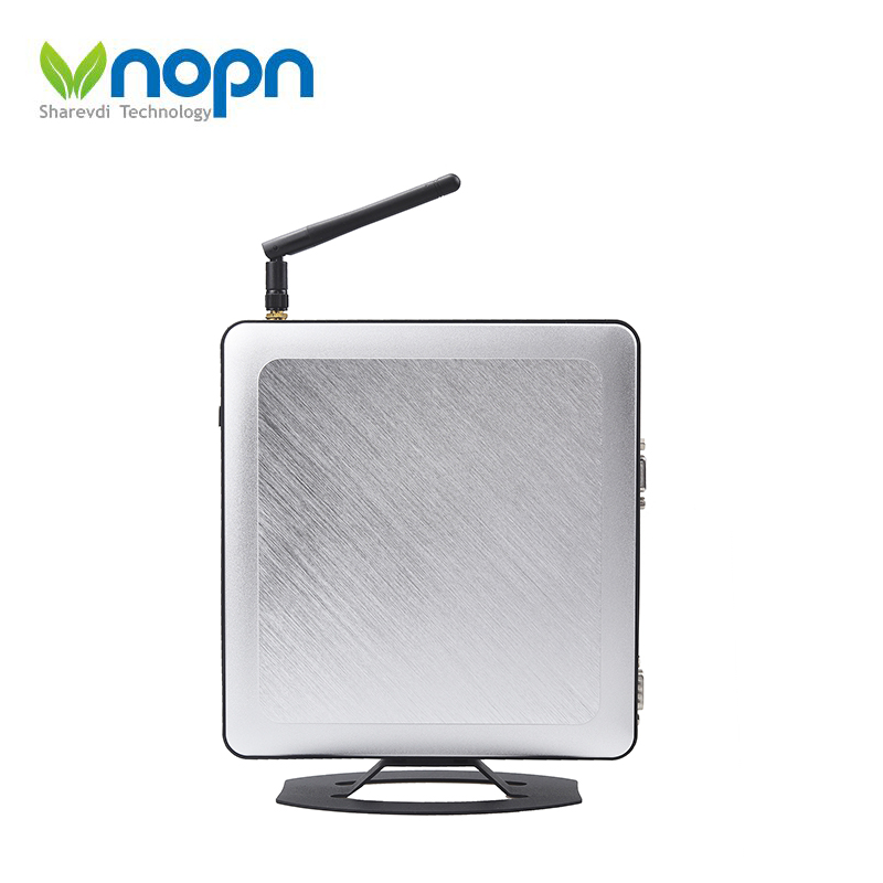 Wholesale Thin PC  mini desktop Small computer with WIFI antenna