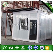 Latest Design best container house price/20ft movable container camp container office 20ft site