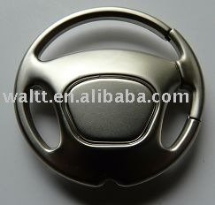 Customs logo Auto Steering Wheel keyring/keyholder/keychain/keyfob