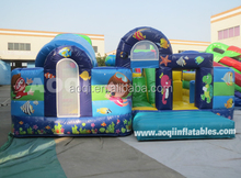 2015 AOQI new design competitive price attractive ocean inflatable fun city