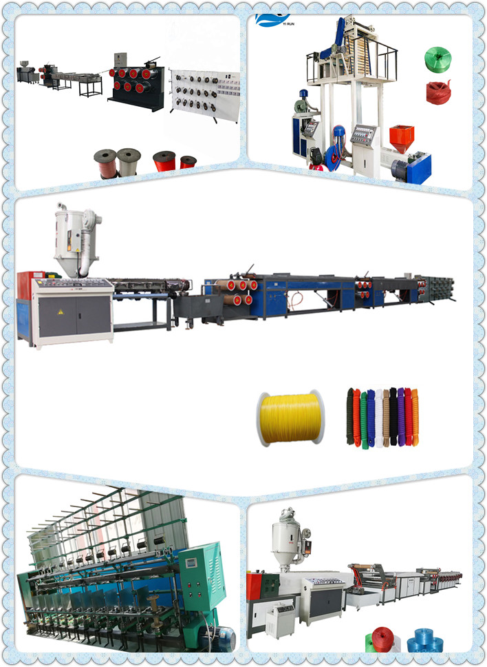 High quality automatic pet broom filament extruder making machine pet monofilament extrusion line