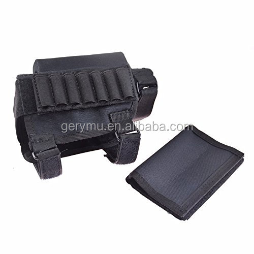 14 Holders Hunting And Tactical Rifle Gun Buttstock Shell Ammo Holder Pouch