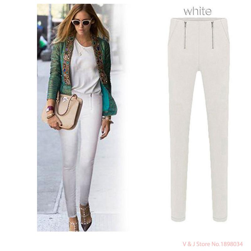 c8b02560705 Buy Plus size women pants summer autumn 2015 pants women trousers tights  capris casual pants pencil pants women black clothing in Cheap Price on m.alibaba.  ...