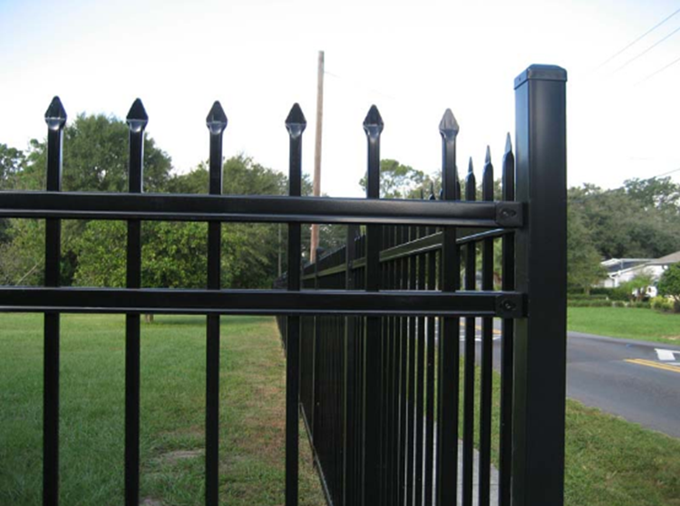 ISO9001 Wholesale Steel Fence,wrought Iron Fence Panels