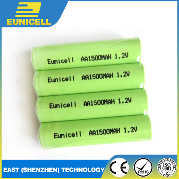 1.2V Nickel Metal Hydride battery AA NiMH rechargeable battery