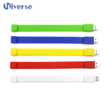 Colorful Custom Design USB Wristband, Branded USB Personalized 8GB 16GB