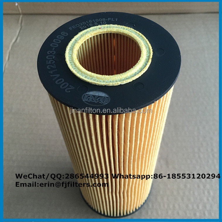 Factory Price Auto Engine Spare Parts Oil Filter E161H D28 / D 28 E 161 H