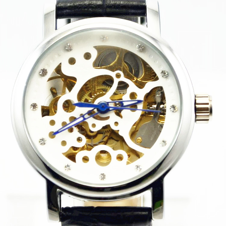 2ad19a71c Winner automatic mechanical watch fashion hot selling strap mens watch  charm cutout jwh098