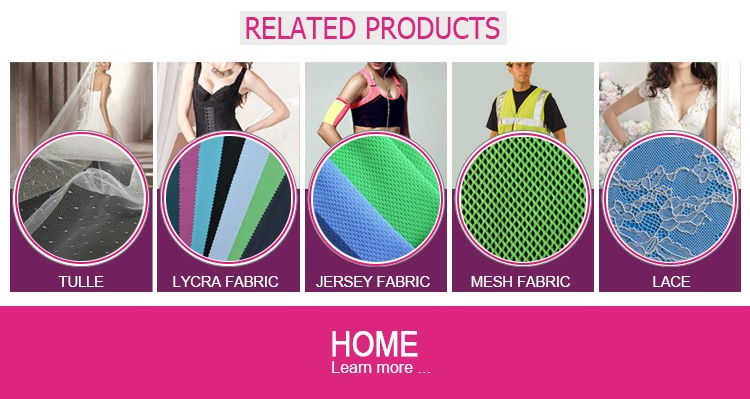 Hexagonal polyester fabric mesh for bag