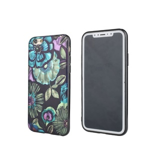 OEM custom design IMD printed TPU+PC cell phone case for Samsung S6/S8/S9