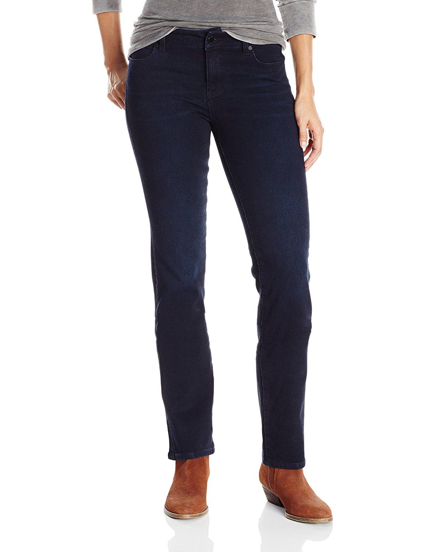 Liverpool Jeans Company Women's Liverpool Sadie Straight 5 Pocket Denim Jean