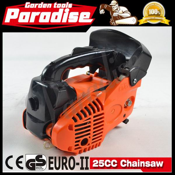 2014 New Sale Garden Tools 2-stroke 25cc Mini Chainsaw Small Gas Chainsaw