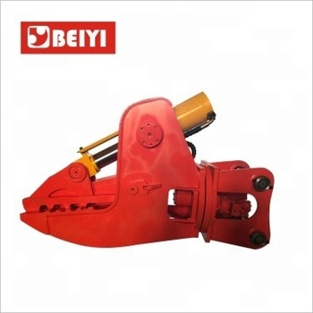 2018 hot sell BeiYi series concrete crusher for excavator to crush concrete pile