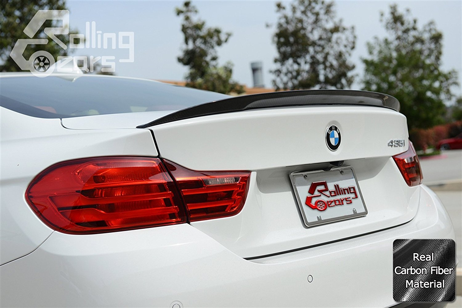 Performance Style Sport Carbon Fiber Trunk Lid Spoiler Wing For 2014-2016 BMW F32 428i 438i