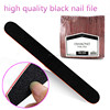 Factory OEM Competitive price emery board black nail file buffer manicure tool