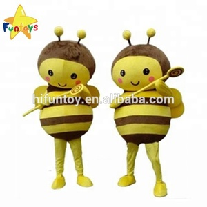 Funtoys CE Small Honey Bee Mascot Party Carnival Costumes for Adult/Children