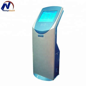 TFT LCD electronic multitouch kiosk with touch screen