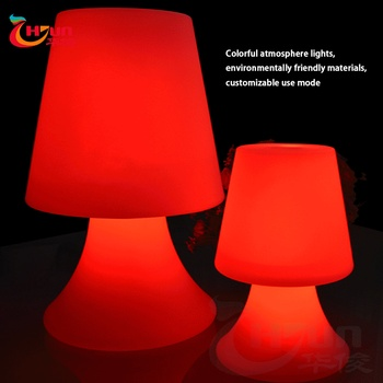 Fashionable Battery Ed Led Lighting Touched Colors Changing Rgb Table Lamp