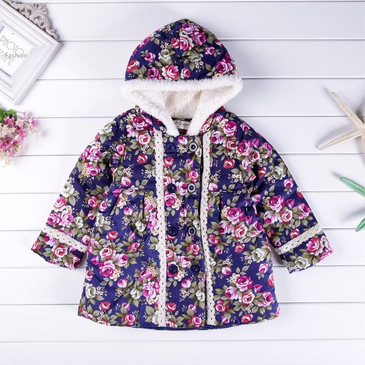 2015 On Sale Retail new children's coat girl autumn winter