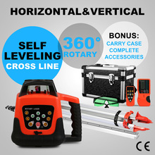 New Green Beam Auto Self Levelling Rotating Rotary Laser Level 500m