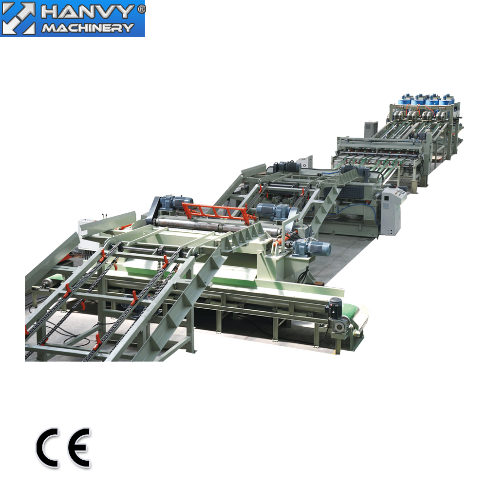China Fineer Multiplex Machine Vervaardiging