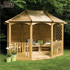 Personal & public facilities custom wooden tranditional outdoor pavilion