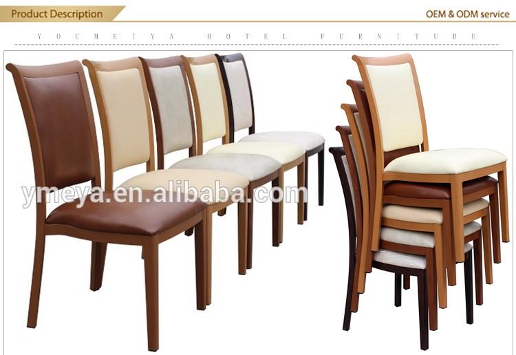 Customized Modern Restaurant Furniture Aluminum Dining Chair