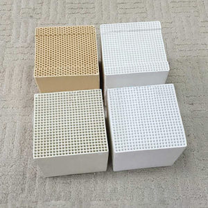 Compact Cordierite Honeycomb Ceramic Regenerator / Heat Exchanger