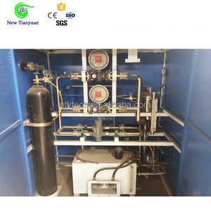 Nitrogen Gas Pressure Regulation, N2 Gas Regulating Equipment in Cabinet Type