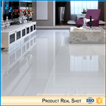 Construction Building Super Glossy White Nano Polished Porcelain Tiles