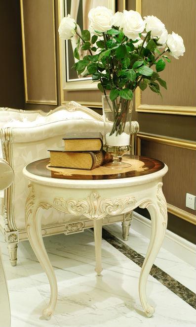 Luxury Living Room Side Table; Royal Living Room Coffee Table ...