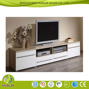 New design whith color TV stand moden tv cabinet