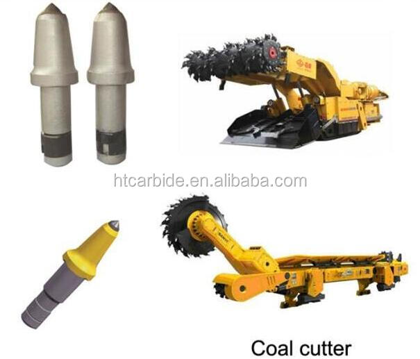 Cemented carbide coal machine tools coal mining tips