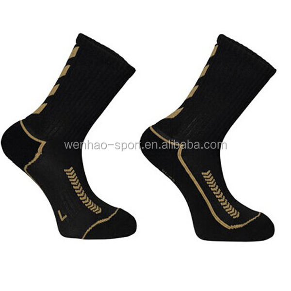 Eco friendly anti-bacterial men black 100% bamboo socks
