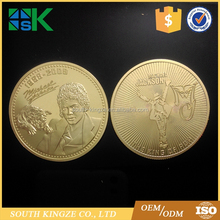 Michael Jackson Gold Plated Collectible Coin MJ Gift Fans