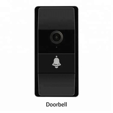New innovative design waterproof battery-powered night vision visual camera wifi talking wireless smart video doorbell