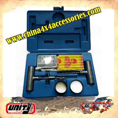Unity professonal in OEM your design auto spare parts 4wd vehicle tire puncture repair kit