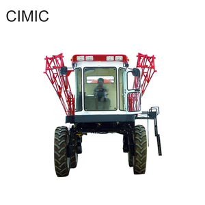 big self-propelled boom high clearance pest sprayer