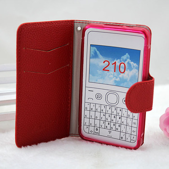 reputable site 69848 2ac6c hot sale!!! wallet flip leather wallet case for Nokia Asha 210, View flip  case for Nokia Asha 210, PJ Product Details from Guangzhou Pinjun ...