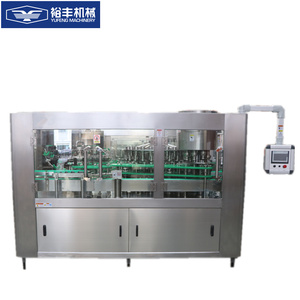 Adopts the normal pressure filling principle multi-used practical liquid canning machine price