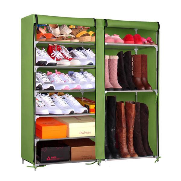 Incre ble metal zapatero zapato moderno estante elegante for Muebles para zapatos moderno