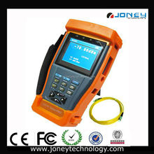3.5 inch TFT LCD CCTV Tester Pro with PTZ Controller/PTZ Cable tester and Optical Power Meter