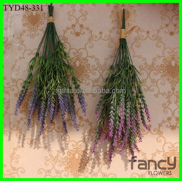 7-branch dried lavender artificial flower in stock now