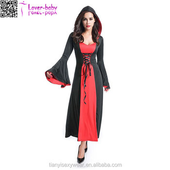Witch Halloween with Hood funny sexy halloween costumes