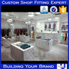 Clothing Store Display Design with LED lighting
