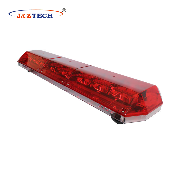 High bright PC material 88W <strong>orange</strong> led warning lightbar for ambulance car