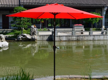 9ft crank patio umbrella screw with tilt mechnism for outdoor resting life : crank patio umbrellas - thejasonspencertrust.org